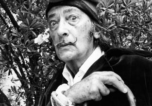 Persfoto Salvador Dali