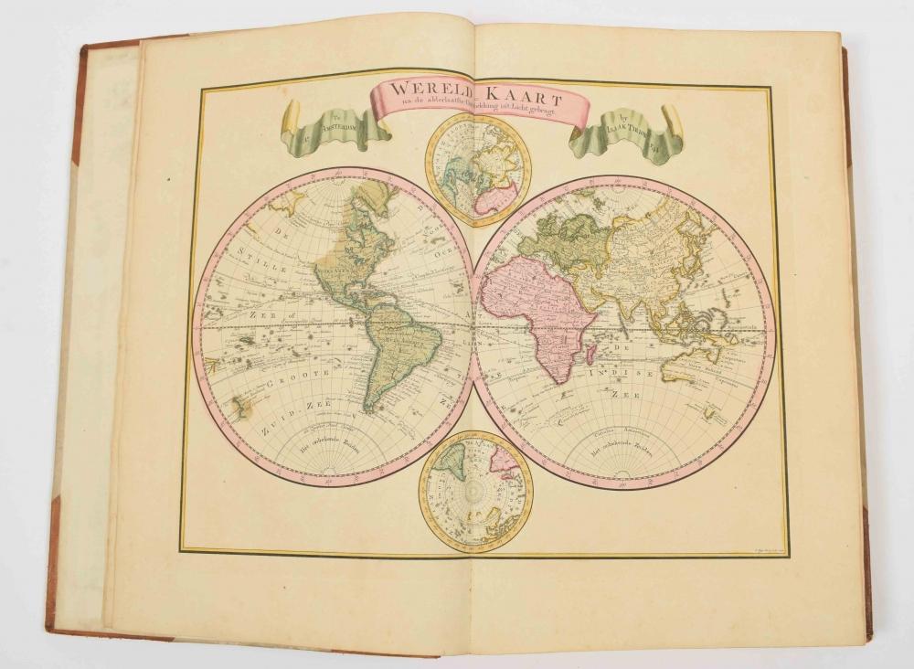 [Tirion. Wereldatlas] Nieuwe en Beknopte Hand-Atlas