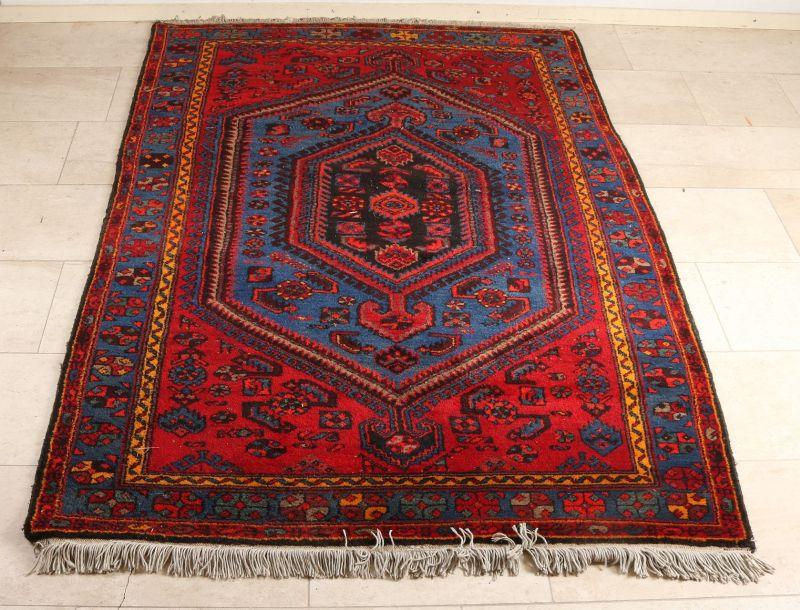 Oud Perzisch kleed. Hamadan. In