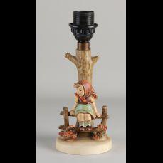 Duitse Hummel keramieken tafellamp. Meisje