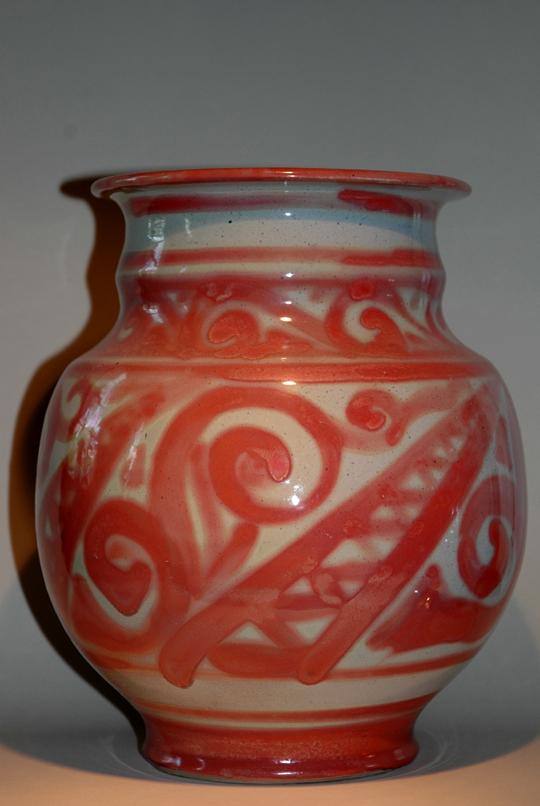 Grote Kamo met rode versiering