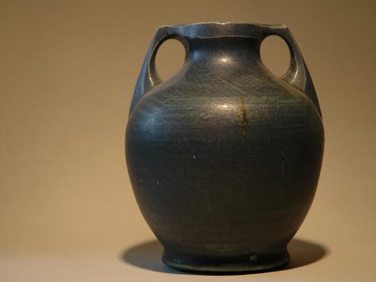 Romeins vaasje in blauw