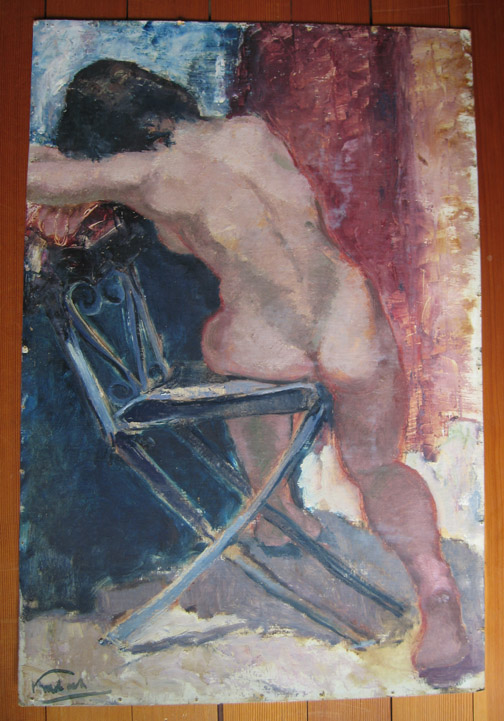 Schilderij van Klaas Mobach