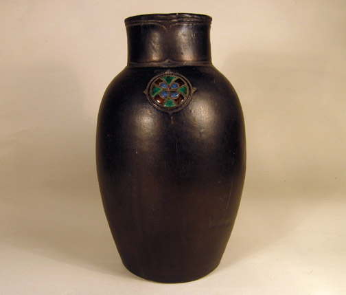 Vaas met mooie versiering