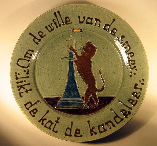 Utrechtse Pottebakker wandbord