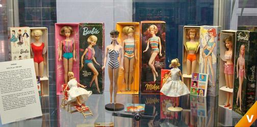Barbie in Box