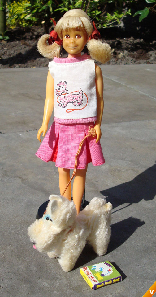 Barbie - Skooter in `Me and my dog`