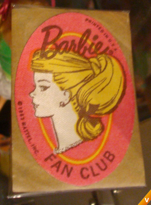 Barbie - Fan Club Sticker