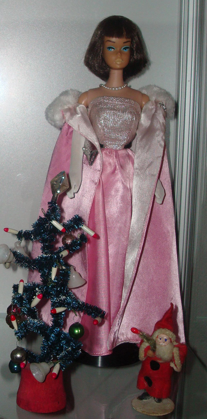 American Girl Barbie Midnight Pink