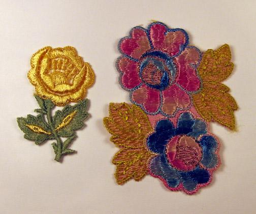 Twee soorten bloemen