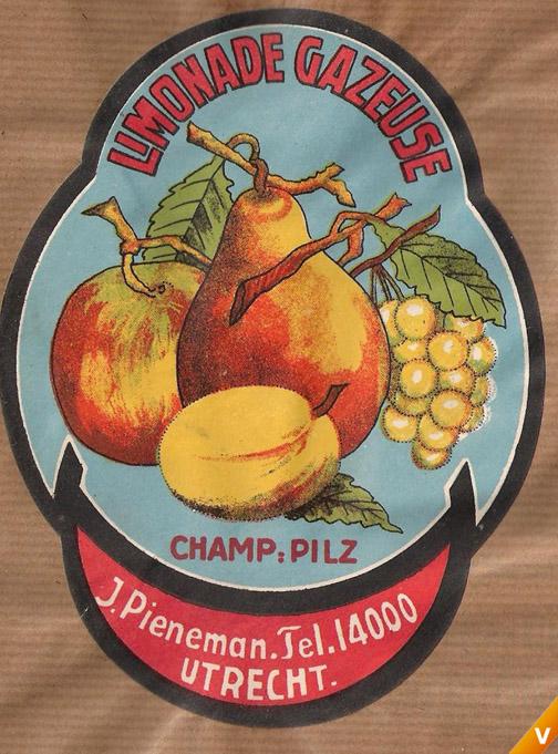 Etiket champagne pils