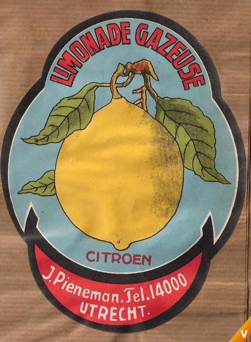Etiket citroen limonade