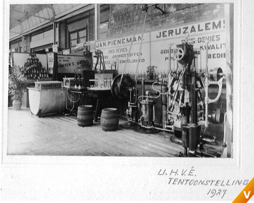 Overzichtsfoto tentoonstelling 1927