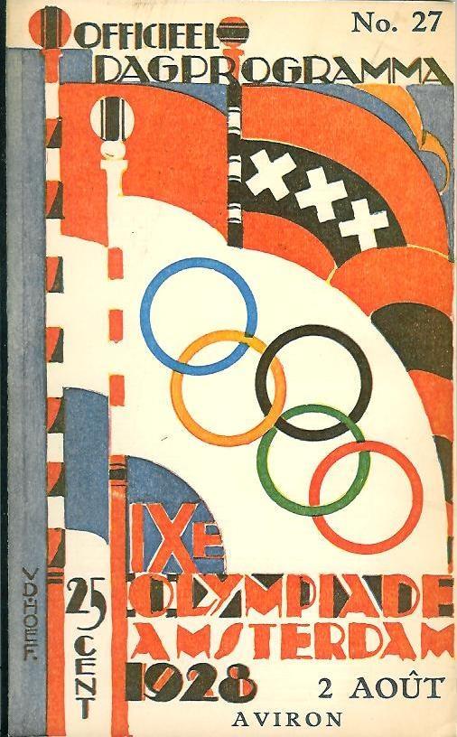 Dagprogramma Olympische Spelen 1928