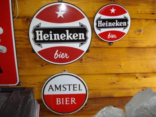 Emaille bord Heineken