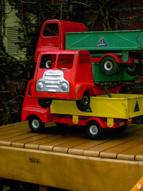Swan speelgoed vrachtwagens