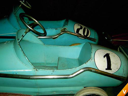 Racewagen trapauto`s