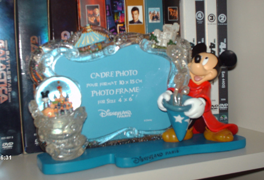 Mickey Mouse fotoframe