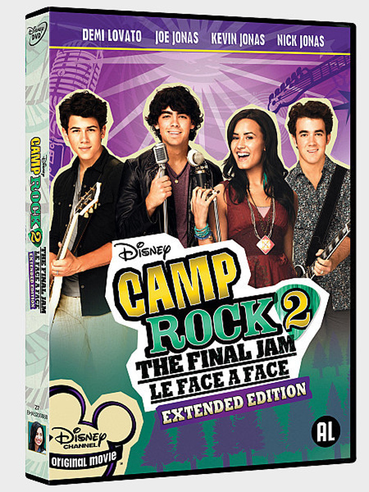 DVD Camp Rock 2