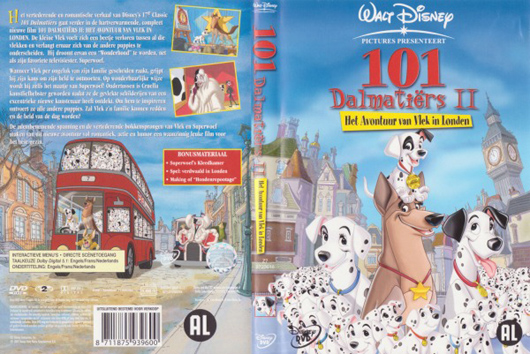 DVD 101 Dalmatiers II