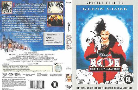 DVD 101 Echte Dalmatiers