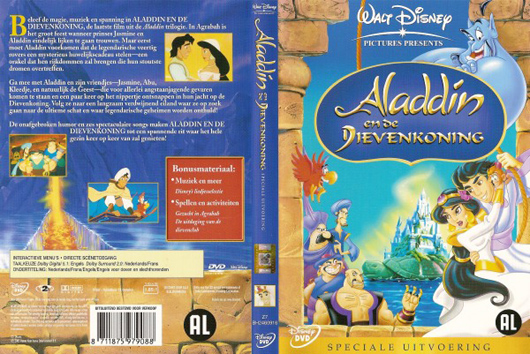 DVD Aladdin en de dievenkoning