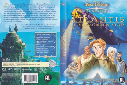 DVD Atlantis de verzonken stad
