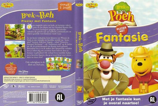 DVD Poeh plezier met fantasie