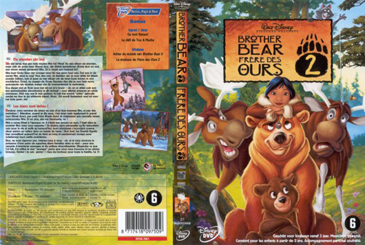 DVD Brother Bear 2