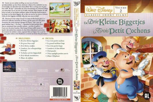 DVD de Drie Kleine Biggetjes