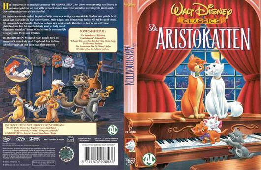 DVD De Aristokatten