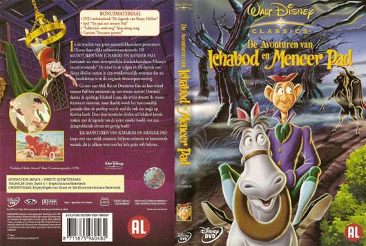 DVD Ichabod en Meneer Pad