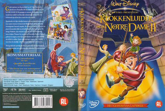 DVD De klokkenluider van de Notre Dame 2