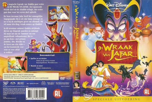 DVD De Wraak van Jafar