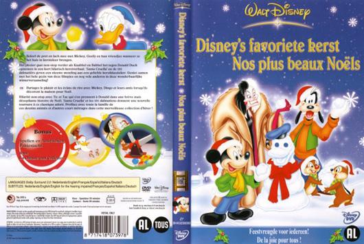 DVD Disney`s favoriete kerst