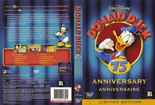 DVD Donald Duck 75 jaar