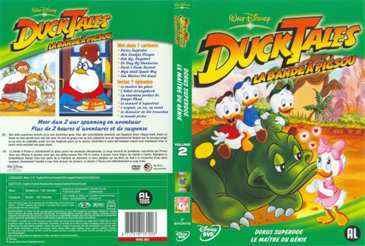 DVD DuckTales Dorus Superdoe