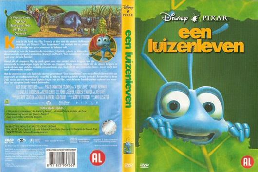 DVD Een Luizenleven