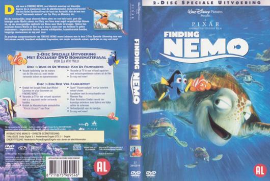 DVD Finding Nemo