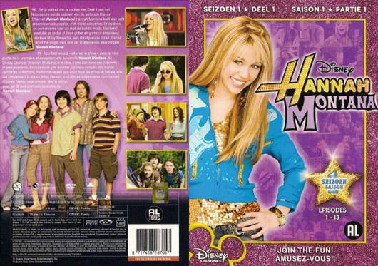 DVD Hannah Montana Seizoen 1-1