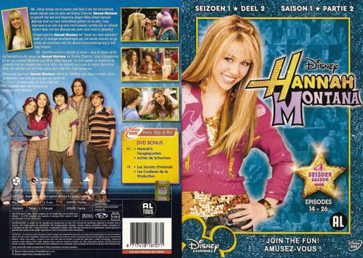 DVD Hannah Montana Seizoen 1-2