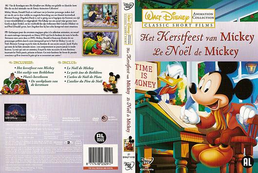 DVD Het Kerstfeest van Mickey