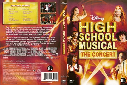 DVD High School Musical The Concert