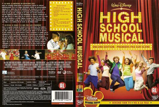 DVD High School Musical