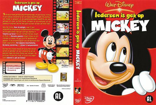 DVD Iedereen is gek op Mickey