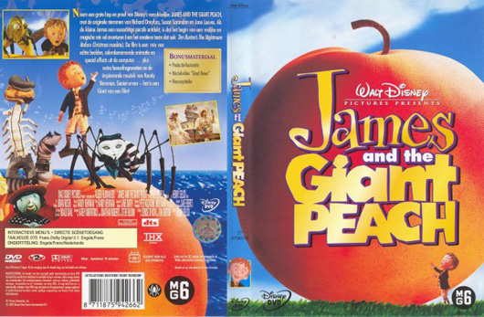 DVD James and the Giant Peach