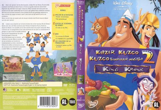DVD Keizer Kuzco 2