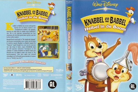 DVD Knabbel en Babbel Heibel in de Boom