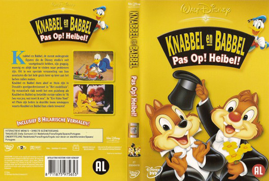 DVD Knabbel en Babbel Pas op! Heibel!