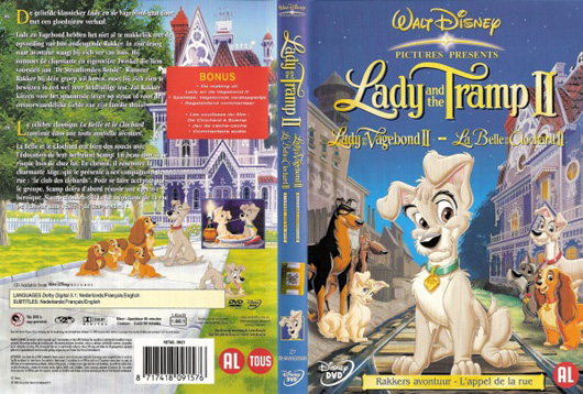 DVD Lady en de Vagebond II